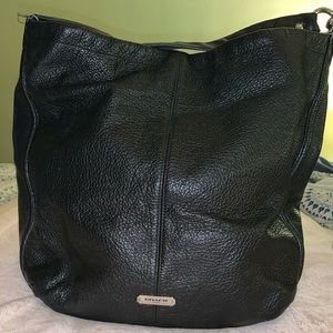 Real Leather Hobo Bag